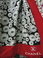 Шарф палантин Chanel Шанель.