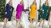 Платье нарядное, размер 48,50,52 код 444Р