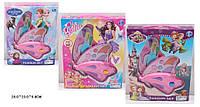 """Косметика """"Frozen """"Barbie """"Sofia """"WZ001/2/3 3вида, 2-ух ярус, тени, румяна, блески,"""
