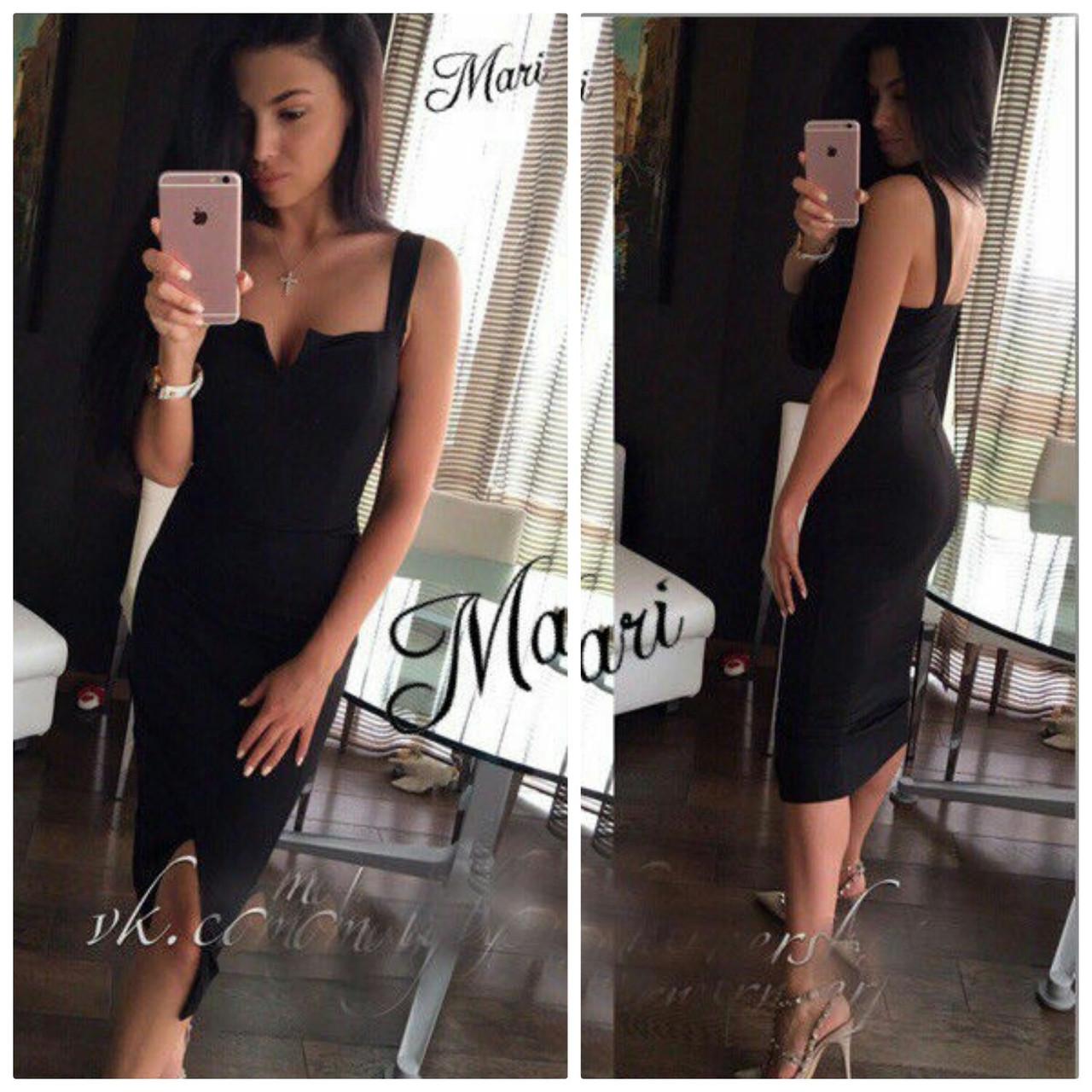fc8d30e15b78 Элегантное черное платье (арт. 312352260) - Aleksa - интернет-магазин  женской одежды