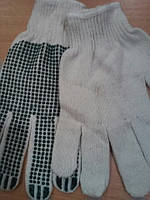 Перчатки х/б с точкой