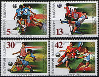 Болгария 1990 - футбол - MNH XF