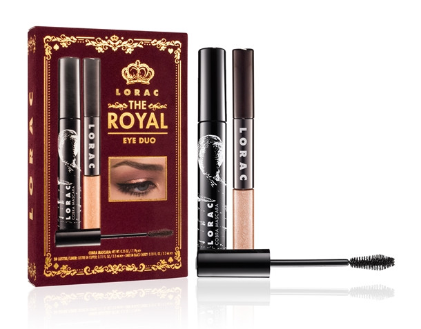 Набор для макияжа глаз LORAC The Royal Eye Duo