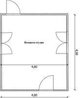 Проекты дома ключ Вариант №9