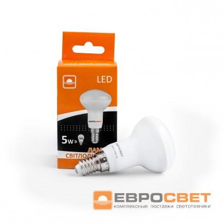 Лампа светодиодная Евросвет R50-5-4200-14 5вт 170-240V