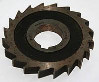 Фреза дисковая пазовая 100х12, Н9, Р6М5