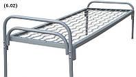 Кровать 190х70 с металлической спинкой