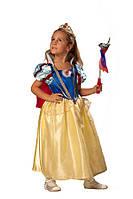 Карнавальный костюм Белоснежка с Короной Кристалл