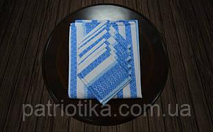 Комплект столовий блакитний | Комплект столовий блакитний 120х140