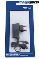 Сетевое зарядное устройство Nokia AC10E Micro-USB (Оригинал)(В блистере)