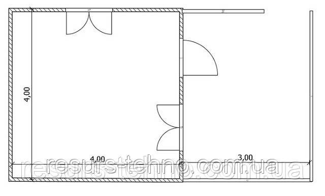 Проекты частных домов Вариант №15