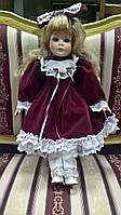 Кукла фарфоровая колекционная, куклы с Франции