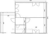 Проекты домов и коттеджей Вариант №16