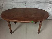 Обеденный стол (овальный, раздвижной) из Италии.