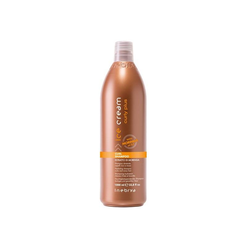 Inebrya Cream Curly Шампунь для вьющихся волос 1000 мл.