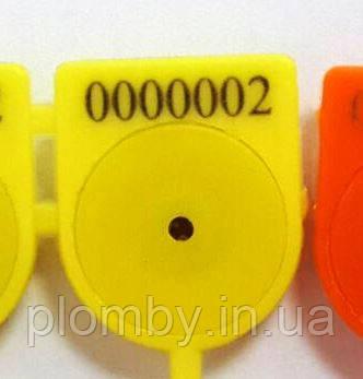 Пломба Вэго, миниатюрный диаметр хвостовика 1,2 мм