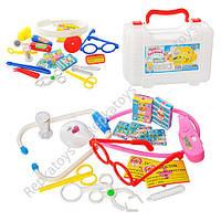 Набор доктора в чемодане, 18 предметов, 2 вида (ОПТОМ) M 0463 AB U/R