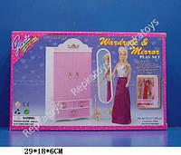 """Мебель Gloria  """"Шкаф"""", напольное зеркало, в коробке (ОПТОМ) 2313"""