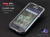 Чехол для Samsung Galaxy S i9000 черный силикон