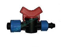 Кран стартовый с поджимом для пластиковой трубы (SL-004)