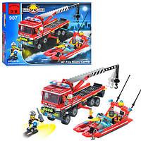 """Конструктор Brick """"Пожарная тревога"""", 420 деталей (ОПТОМ) 907 конструктор"""