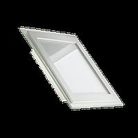 Светодиодный светильник LEDEX PREMIUM, 12W (квадрат+стекло), 1040Лм