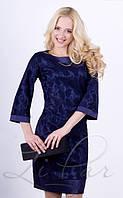 Женское нарядное платье из гипюра, фото 1