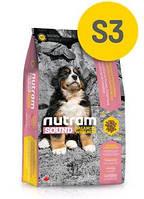 S3 Nutram Sound  Large Breed Puppy 13,6кг -корм для щенков крупных пород  (106грн-1кг)