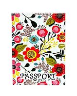 """Обложка на паспорт """"В цветочках"""""""