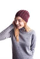 Модная женская вязанная шапка