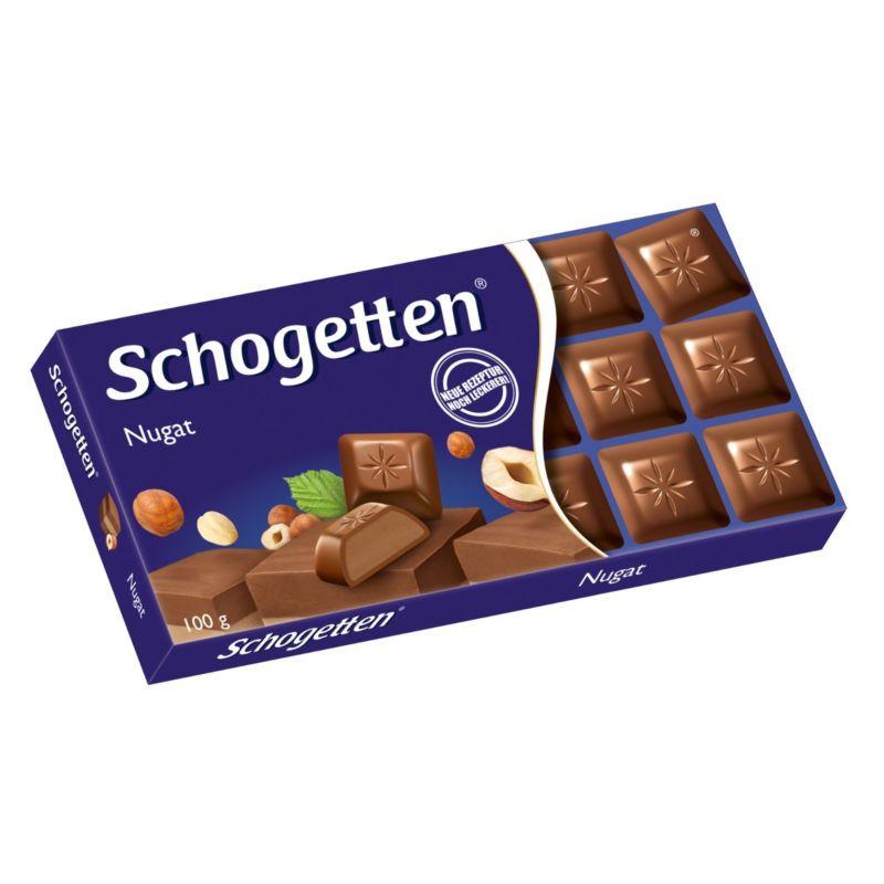 Шоколад Shogetten Nugat (Шоколад молочный с нугой) 100 г. Германия