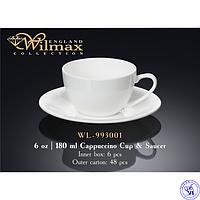 Чашка для капучино  Wilmax 180 мл WL-993001