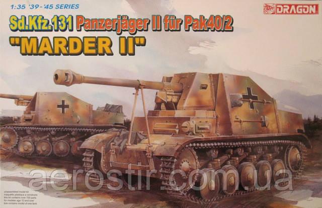 Sd.Kfz.131 Panzerjager II fur PaK 40/2 'MARDER II' 1/35 DRAGON 6262