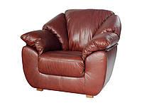 """Кожаное кресло """"Norton"""" (Нортон). (118 см)"""