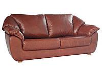 """Кожаный 3х местный раскладной диван """"Norton"""" (Нортон). (222 см)"""