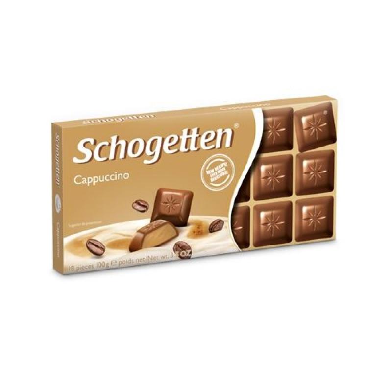 Шоколад Shogetten cappuccino (Шогеттен молочный с капучино) 100 г. Германия