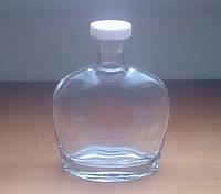 Бутылка стеклянная 500 мл круглая, фото 1