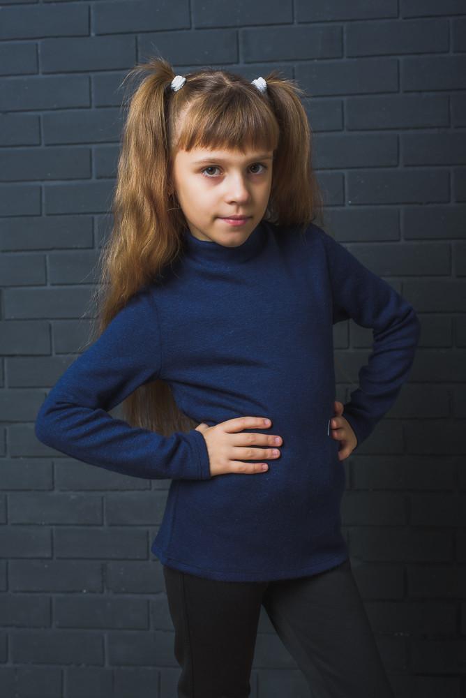 Гольф детский  темно-синий