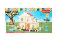 Игровой набор животные флоксовые Дачный Домик 1514 happy family в коробке