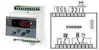 Контроллер температуры EliwellI EWDR 984 (на DIN- рейку) (Италия)