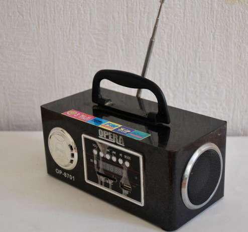 Радиоприемник — портативная акустика Opera OP-8701  f