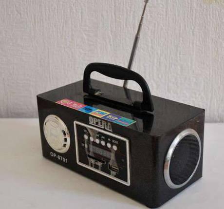 Радиоприемник — портативная акустика Opera OP-8701  f, фото 2