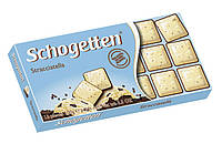 Шоколад Shogetten Stracciatella (Шогеттен белый-молочный-черный) 100 г. Германия