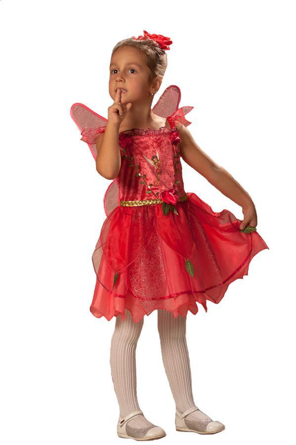 Карнавальный костюм Фея Розетта с крыльями