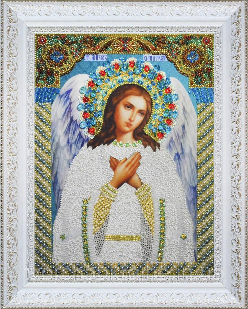 Набор для вышивки бисером Икона Ангела Хранителя