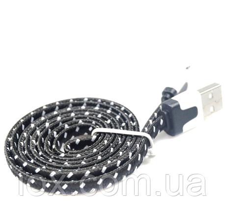 Плетеный USB кабель для зарядки и синхронизации данных с ПК для Apple Iphone 5, 5s, 6, 6S, 6 плюс