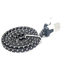 Плетеный USB кабель для зарядки и синхронизации данных с ПК для Apple Iphone 5, 5s, 6, 6S, 6 плюс, фото 1