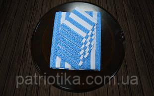 Комплект столовий блакитний | Комплект столовий голубий 190х140