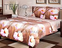 Комплект постельного белья 942 «Луиза» ТМ ТЕП (Украина) бязь Евро