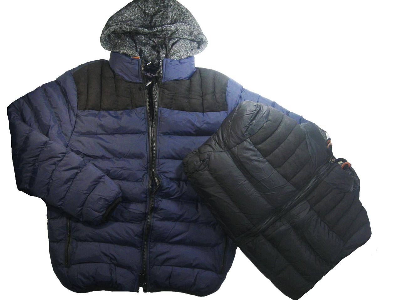 Куртка мужская на меховой подкладке, Nature, размер- 2XL, арт. 3972
